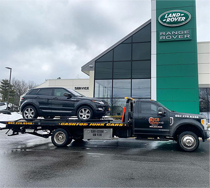 Range Rover Towing