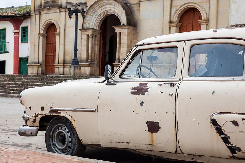 Vintage Junk Car
