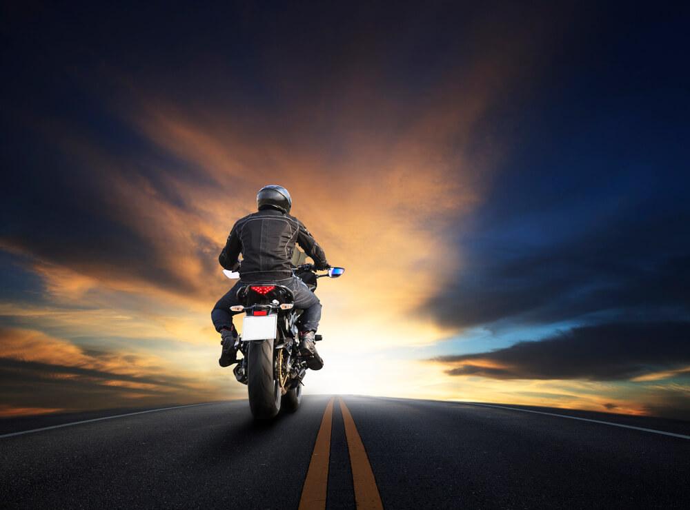 Bike Riding on Highway