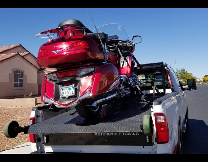 Heavy Bike Towing